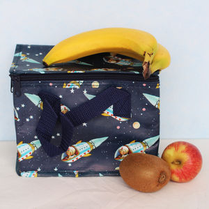 Insulated Spaceboy Lunch Bag - lunch boxes & bags
