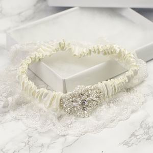 New 2015 Vintage Inspired 'Lux' Bridal Garter - women's sale