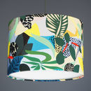 Kitty Mc Call Hockney Fabric Lampshade