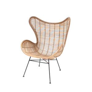 Rattan Egg Chair, Arm Chair Braided Rattan