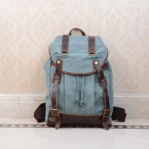 Personalised Canvas Backpack - shop by recipient