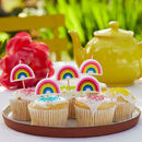 Rainbow Shaped Party Candles