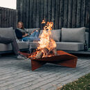 Tripple Steel Firepit