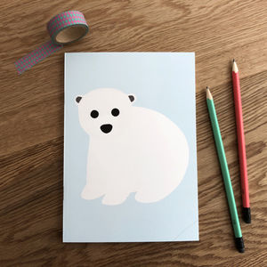 Polar Bear Notebook