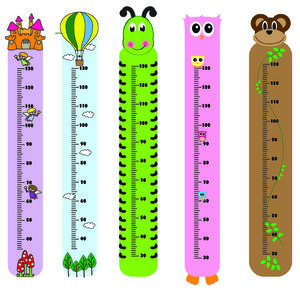 Height Chart - children's decorative accessories