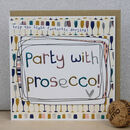 Pack Of Five Alcohol Or Party Themed Birthday Cards
