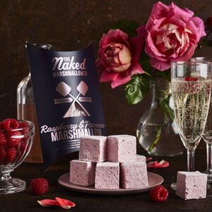 Raspberry And Prosecco Gourmet Marshmallows