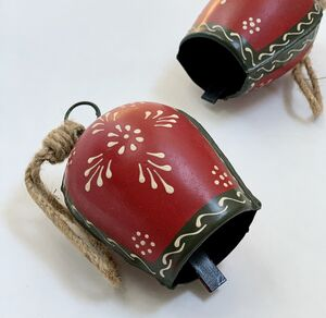 Reindeer Bell Decoration