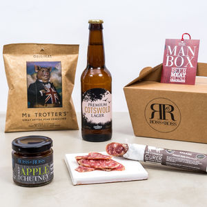 Man Box Beer - wines, beers & spirits