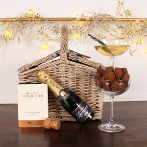 Fizz And Feast Christmas Hamper - office & study