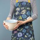 Goldcrest And Cornflower Baking Apron