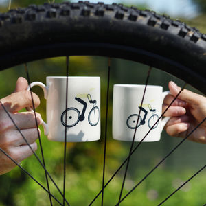 Yellow Jersey Cycling Mug - tableware