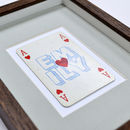 Ace of hearts detail 2