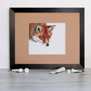 Inquisitive Red Fox Signed Mounted Giclée Print