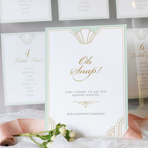 Long Island Wedding Table Sign