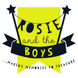 Rosie and the Boys black and white logo