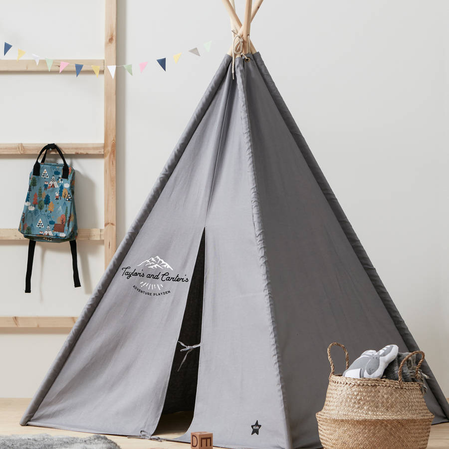 Personalised Teepee Play Tent By Simply Colors