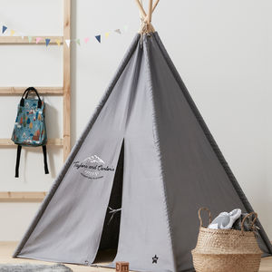 Personalised Teepee Play Tent - tents, dens & teepees