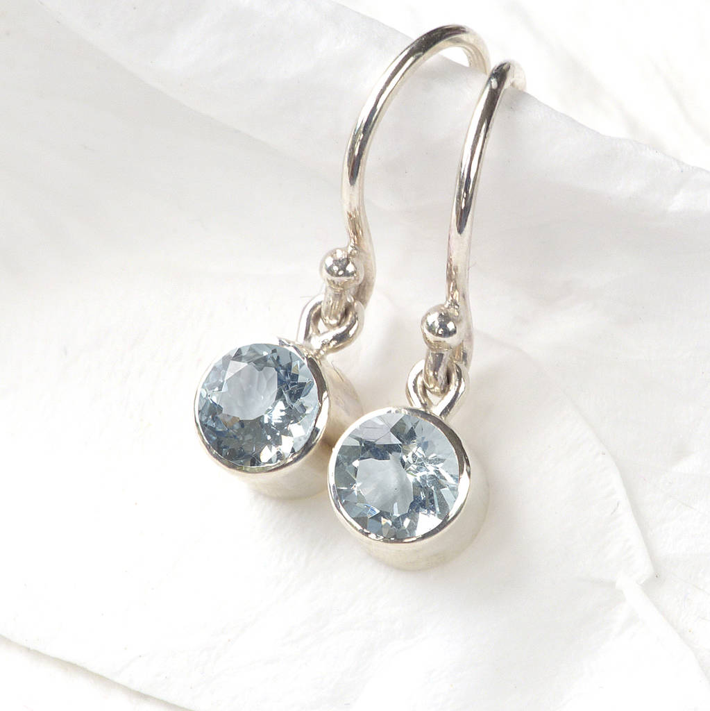 product original liliandesigns lilia march birthstone aquamarine nash jewellery earrings by