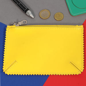 Coloured Leather Purse