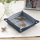 Navy Coin Tray