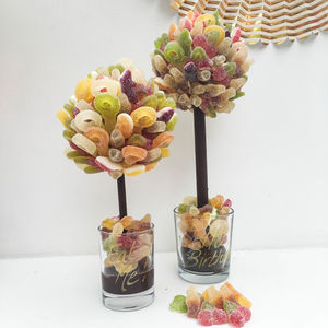 Personalised Fizzy Haribo Sweet Tree - personalised
