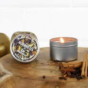 'Mulled Wine' Christmas Candle | Tea Infused - christmas home