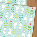 Baby Feet Gift Wrap Two Sheets