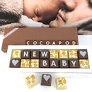 New Baby Boy Baby Girl Arrival Chocolate Gift