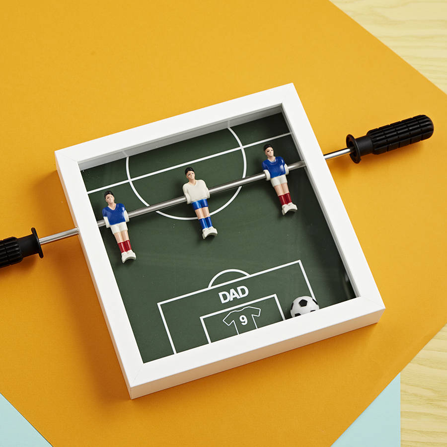 Personalised Table Football Art