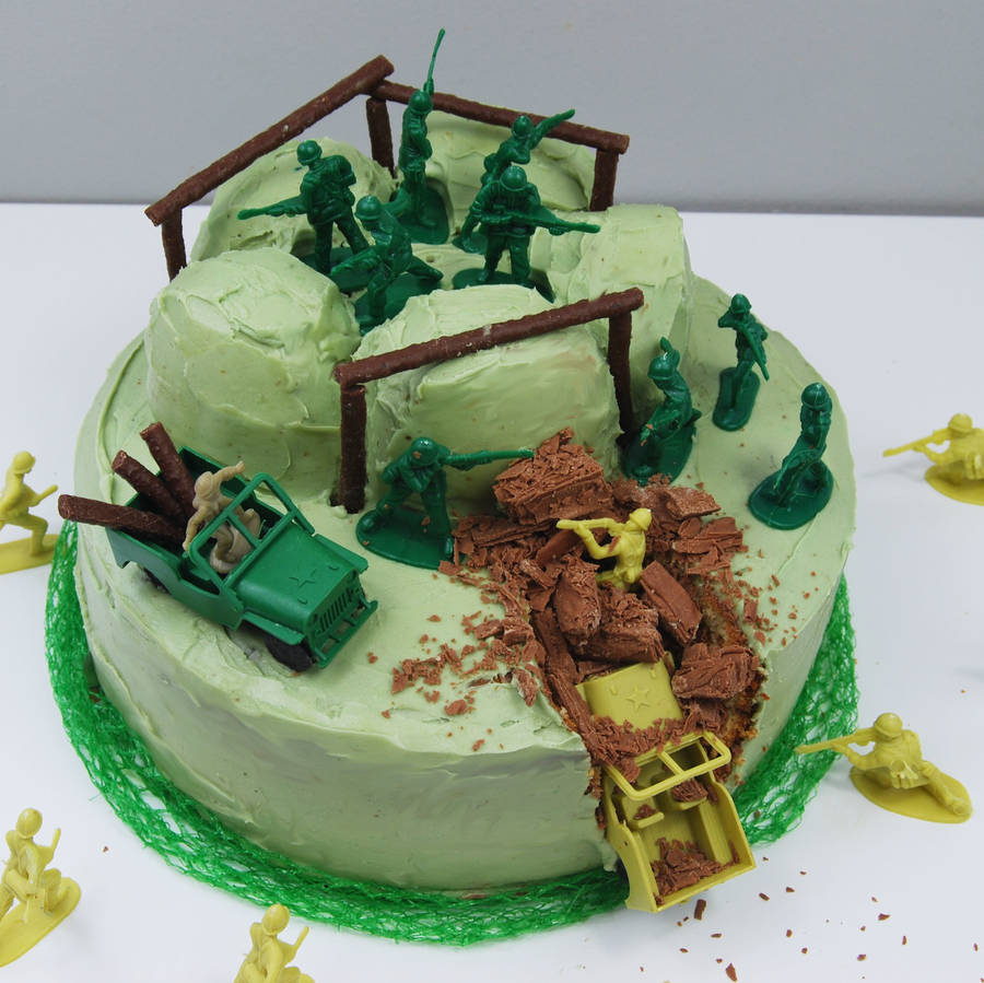 army birthday cake kit by craft crumb notonthehighstreetcom