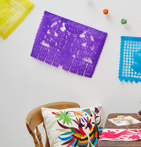 Colourful Mexican Party Bunting - bunting & garlands