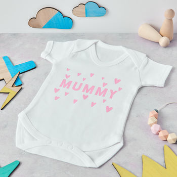 Mummy Heart baby outfit