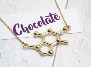 Chocolate Molecule Necklace - necklaces & pendants
