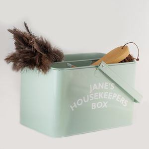 English Heritage Housekeepers Box With Brush And Duster