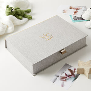 Welcome To The World Keepsake Box