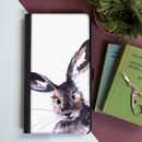 Inky Hare Flip Phone Case With Card Slots