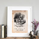 Alice In Wonderland Print 'Life'