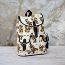 Paital Canvas Backpack