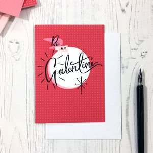 Be My Galentine Card - original valentine's cards