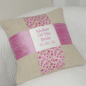 'Mother Of The Bride' Cushion - wedding thank you gifts