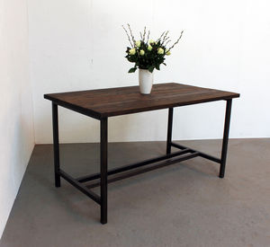 Eloise Two Toned Scaffold Board Table
