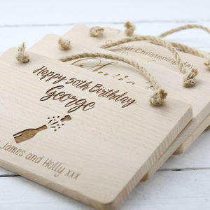 Create Your Own Personalised Engraved Wooden Plaque - door plaques & signs