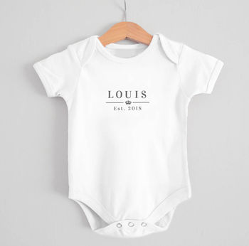Royal Est. Baby Grow