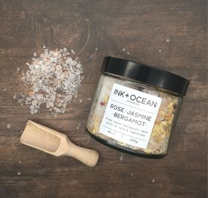 Rose,Jasmine And Bergamot Aromatherapy Bath Salts