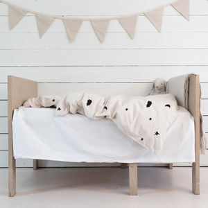 Moon And Stars Baby Bedding With Name