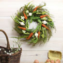 Vegetable Easter Wreath
