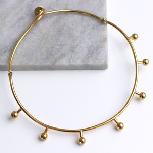 18ct Gold Vermeil Ori Collar