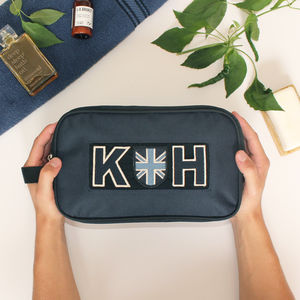 Personalised Sports Wash Bag