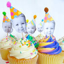 Happy Head Personalised Cupcake Toppers